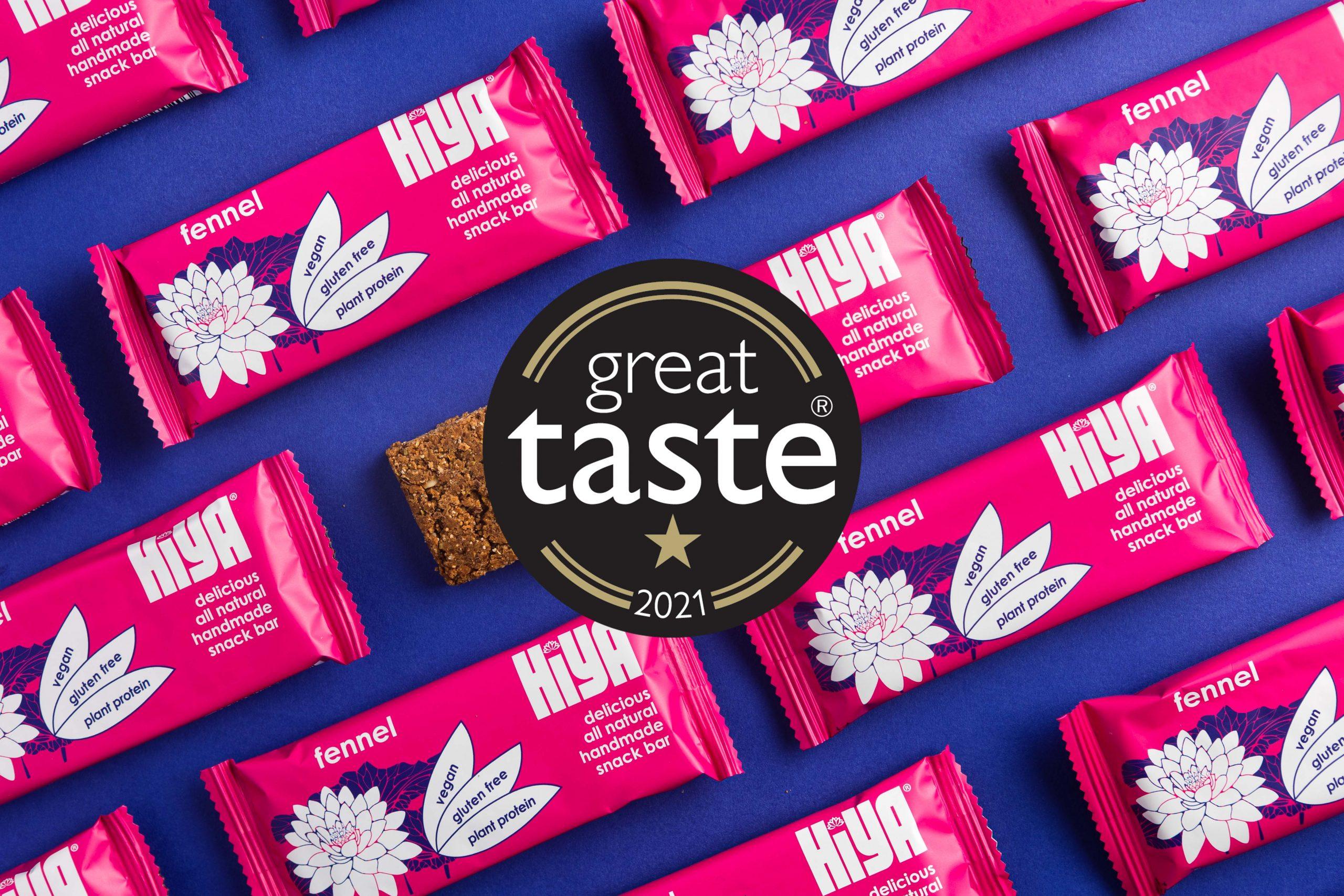 Great Taste award winner - Hiya fennel bars